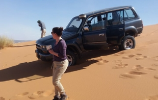 Across Merzouga Dunes Tour in 4x4